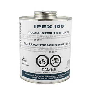 74715 S100QT PVC CEMENT 946 ML CLEA