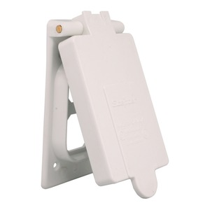 RWDR15/10 WEATHERPROOF COVER WHITE