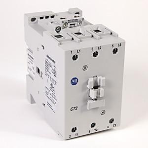 100-C72D00 72 AMP CONTACTOR 120V COIL