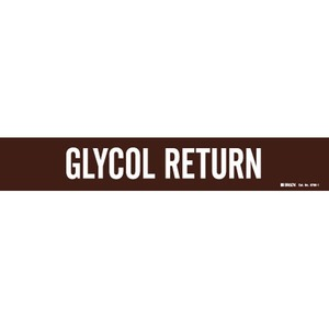 8780-1HV GLYCOL RETURN WHITE/BROWN