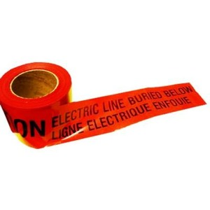 TAPEBURIED RED CABLE BUIED TAPE 3""