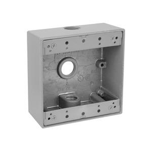 2IH32 RAINTIGHT DEV BOX-2 GANG 3 HOLE