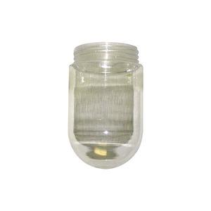 008507 GL100 *RAB GLASS GLOBE CLEAR 100W